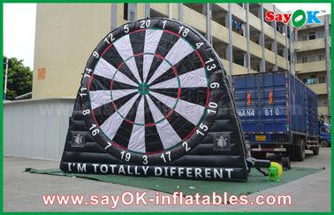 China Jogos infláveis dos esportes de encerado do PVC, placa de dardo de anúncio feita sob encomenda de Inflatables fornecedor