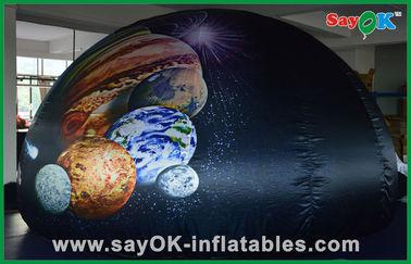 China Barraca portátil inflável da abóbada do planetário de pano de Oxford para a aprendizagem do divertimento das crianças fornecedor