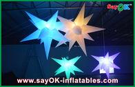 de boa qualidade Barraca inflável do ar & Casamento que pendura a estrela conduzida inflável da decoração inflável da iluminação à venda
