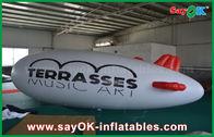 China plano de ar inflável do zepelim do hélio do balão 5m do hélio do logotipo feito sob encomenda do PVC de 0.2mm fábrica
