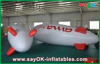 China zepelim inflável de anúncio de flutuação do avião do hélio do balão de 5m para a promoção fábrica