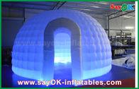 de boa qualidade Barraca inflável do ar & da barraca inflável do ar do iglu de pano de 210D Oxford barraca redonda da abóbada com luz do diodo emissor de luz à venda