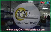 China balões à terra infláveis herméticos do PVC de 0.2mm impermeáveis com cópia do logotipo fábrica