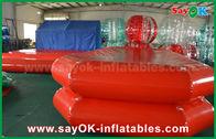 China Lagoa apertada da natação do ar inflável vermelho da associação de água do PVC para o jogo das crianças fábrica