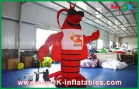 China Lagosta inflável vermelha grande para anunciar a decoração/modelo artificial gigante da lagosta fábrica