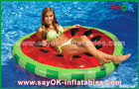 China Amarelo/vermelho/associação inflável crua do flutuador da associação fatia do fruto brinca nadando fábrica