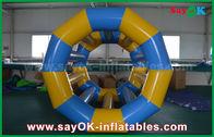 China A água inflável rolamento engraçado amarelo/azul brinca brinquedos infláveis da associação para o parque da água fábrica