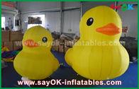 China Pato inflável amarelo grande bonito dos desenhos animados da promoção com a cópia personalizada do logotipo fábrica