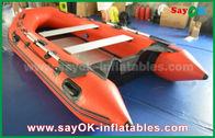 China Barcos infláveis do PVC da pessoa dos bens 2 - 4 para o UL do GV dos jogos da água fábrica