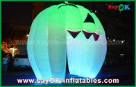 de boa qualidade Barraca inflável do ar & Decorações infláveis bonitos do feriado que iluminam a porta de Ghost/grande abóbora inflável à venda