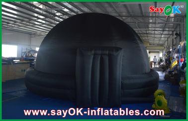 Arquitetura inflável gigante da abóbada do planetário do iglu preto para o ensino da escola