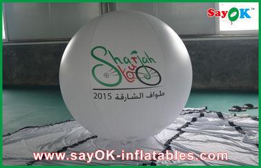 Balões infláveis personalizados da propaganda do hélio gigante do PVC para o partido