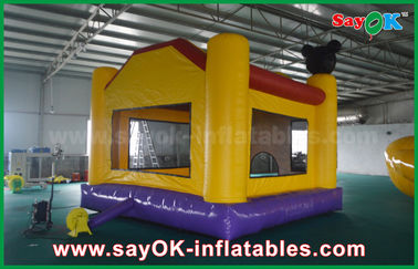 Castelo Bouncy de salto inflável do lúpulo feliz popular do castelo
