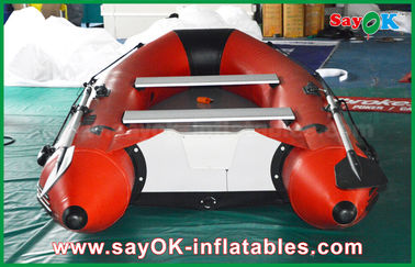 da pessoa inflável do assoalho 4-6 da liga de alumínio dos barcos do PVC de 0.9mm caiaque Canoeing