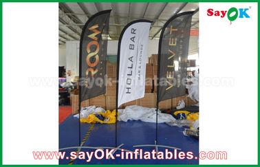 Barraca de dobramento da bandeira inflável portátil da faca de ar para a promoção/propaganda
