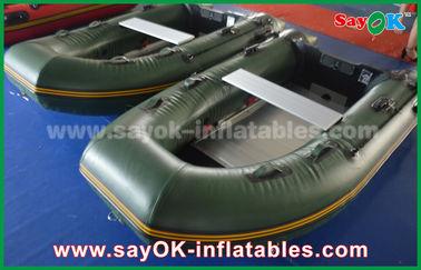 Esverdeie 0,9/1,2 de encerado milímetros de barcos do PVC Inflatabe com assoalho/pás de alumínio