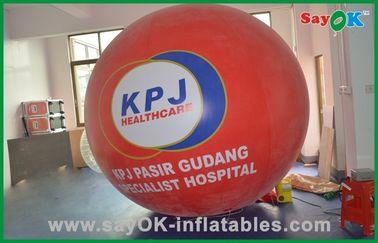 O grande hélio vermelho Balloons o balão inflável comercial do gás do hélio dos produtos