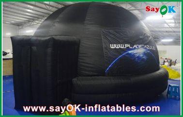 Planetário inflável da escola, barraca inflável à prova de fogo da abóbada da projeção