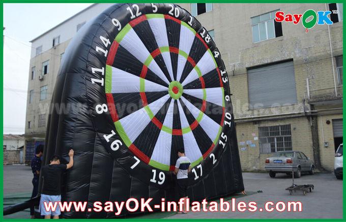 c0040fab2 placa de dardos inflável do futebol do PVC do jogo 0.55mm dos esportes da  altura de 5m ...